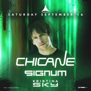 Chicane at Avalon Hollywood