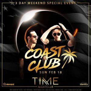 Coast Club at Time Nightclub - February 18, 2018