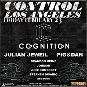 Cognition at Avalon Hollywood - February 23, 2018