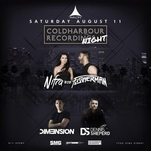 Coldharbour Recordings Night at Avalon - August 11, 2018