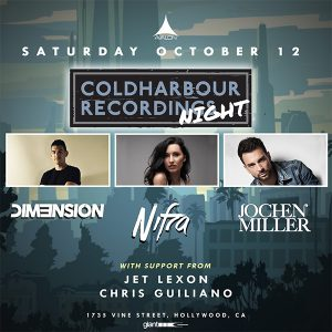 Coldharbour Recordings Night at Avalon Hollywood - October 12
