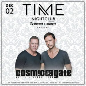 Cosmic Gate at Time Nightclub