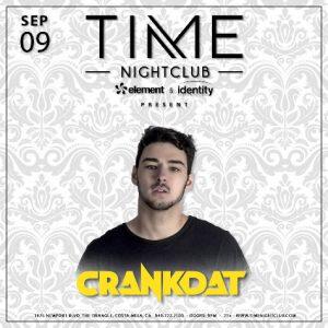 Crankdat at Time NIghtclub OC