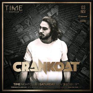 Crankdat at Time - November 3, 2018