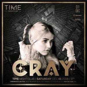 Cray at Time - Dec 1, 2018