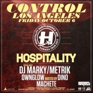 DJ Marky, Metrik at Avalon Hollywood