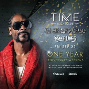DJ Snoopadelic at Time Nightclub