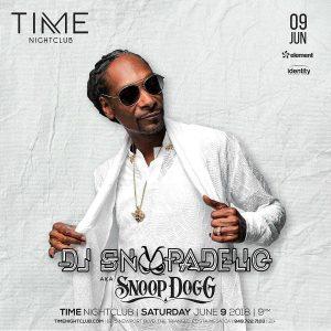 DJ Snoopadelic at Time Nightclub - June 9, 2018