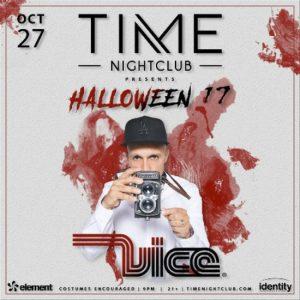 DJ Vice at Time Nightclub