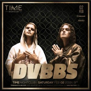 DVBBS at Time - Feb 2, 2019