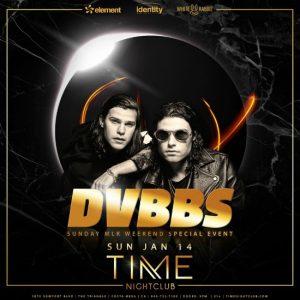 DVBBS at Time Nightclub - January 14, 2018
