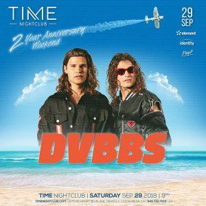 DVBBS at Time OC - September 29, 2018