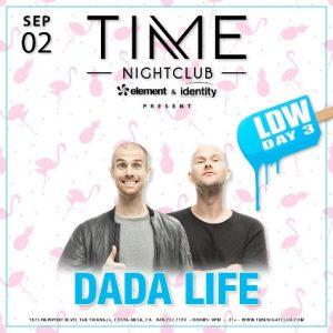 Dada Life at Time Nightclub