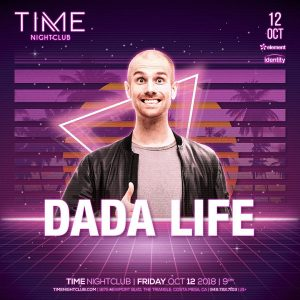 Dada Life at Time OC - October 12, 2018