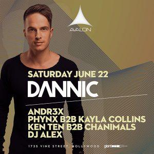 Dannic at Avalon - June 22