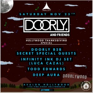 Doorly at Avalon Hollywood - November 25, 2017