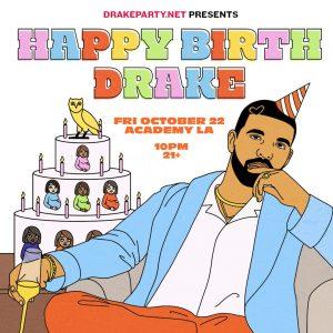 Drake Party at Academy LA - October 22 2021