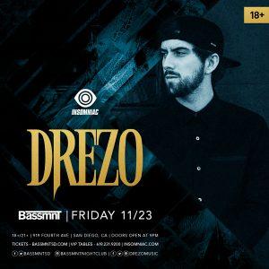 Drezo at Bassmnt - November 23, 2018