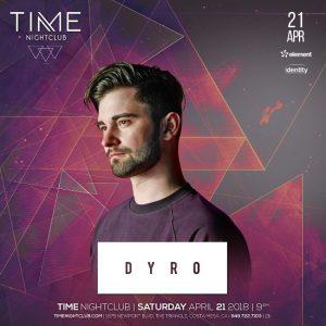 Dyro at Time Nightclub - April 21, 2018