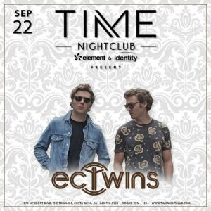 EC Twins at Time Nightclub