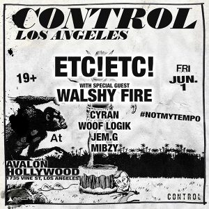 ETC! ETC! at Avalon Hollywood - June 1, 2018