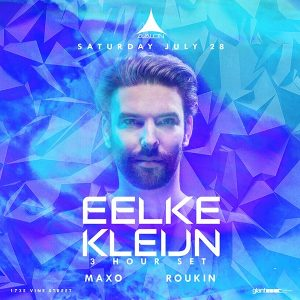 Eelke Kleijn at Avalon - July 28, 2018