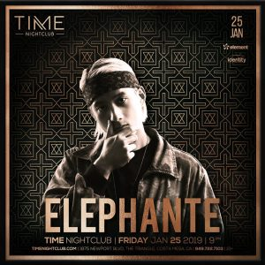 Elephante at Time 1-25-18
