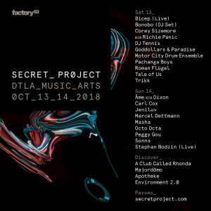 Factory 93 presents Secret Project