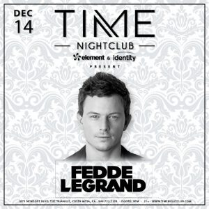 Fedde Le Grand at Time Nightclub