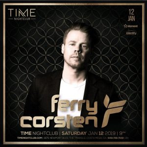 Ferry Corsten at Time