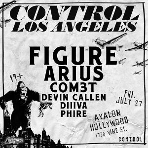 Figure, Arius at Avalon - July 27, 2018