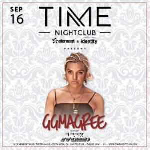 GG Magree at Time Nightclub OC