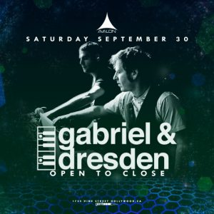 Gabriel & Dresden at Avalon Hollywood