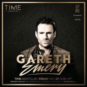 Gareth Emery at Time - Dec 7, 2018