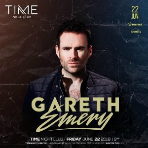 Gareth Emery at Time Nightclub - June 22, 2018