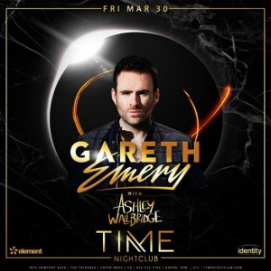 Gareth Emery at Time Nightclub - March 30, 2018