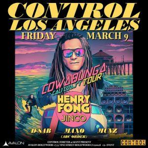 Henry Fong at Avalon Hollywood - March 9, 2018
