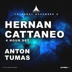 Hernan Cattaneo at Avalon - December 8, 2018