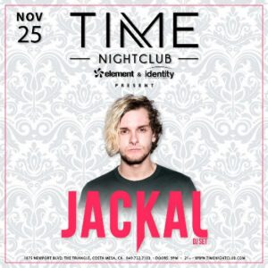Jackal at Time Nightclub