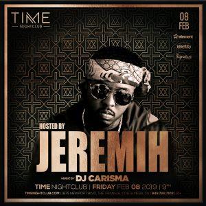 Jeremih at Time - 2.8.19