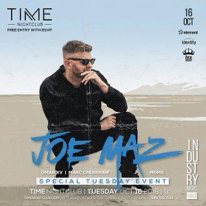 Joe Maz at Time - October 16, 2018