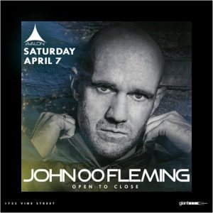 John 00 Fleming at Avalon Hollywood