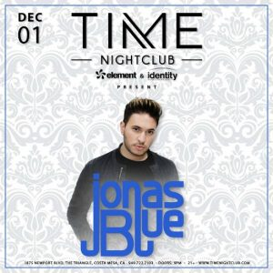 Jonas Blue at Time Nightclub