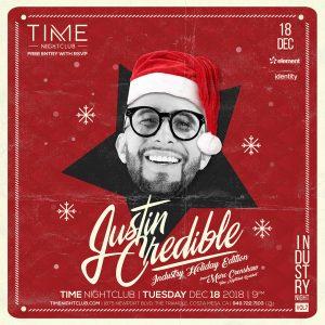 Justin Credible at Time - 12.18.18