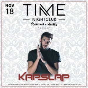 Kapslap at Time Nightclub