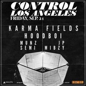 Karma Fields at Avalon - Sep 21, 2018