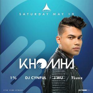Khomha at Avalon Hollywood - May 19, 2018