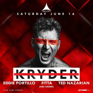 Kryder at Avalon Hollywood - June 16, 2018
