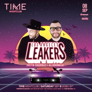 LA Leakers at Time Nightclub - Sep 8, 2018
