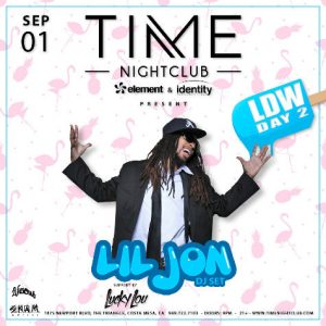 Lil Jon at Time Nightclub OC